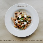 makaron z kurczakiem i warzywami przepis