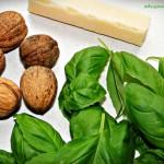 składniki do pesto