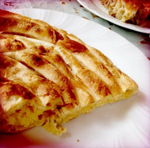 bałański czarnogórski burek z serem