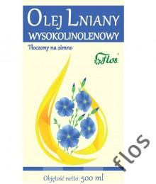 olej lniany wysokolinolenowy flos