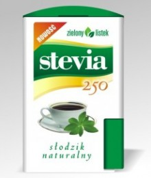stevia stewia w tabletkach 250 tabletek zielony listek