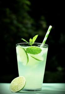 drink z miętą