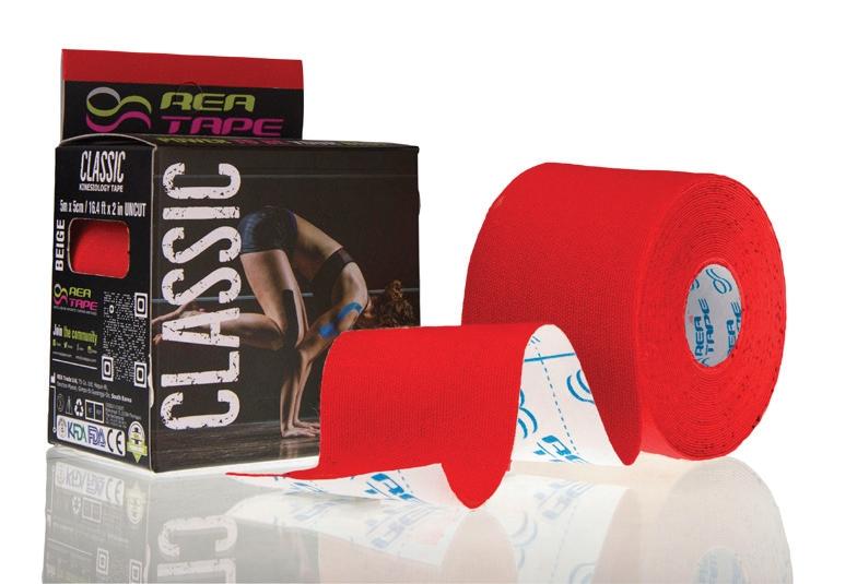 Plastry elastyczne do kinesiotapingu ReaTape Classic